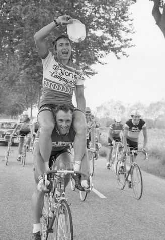 Peelman and Karstens, 1975 Tour de France.