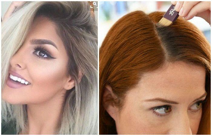 Fashion: Дотянуть до салона: 9 способов, как замаскировать отрастающие корни волос между покрасками http://kleinburd.ru/news/fashion-dotyanut-do-salona-9-sposobov-kak-zamaskirovat-otrastayushhie-korni-volos-mezhdu-pokraskami/  Присоединяйтесь к нам в Facebook и ВКонтакте 9 способов, как замаскировать отрастающие корни волос между покрасками Сердце красавицы склонно не к измене, а к перемене. Перемене настроения. Сегодня хочется быть брюнеткой, завтра – блондинкой, а дня через три подавайте…