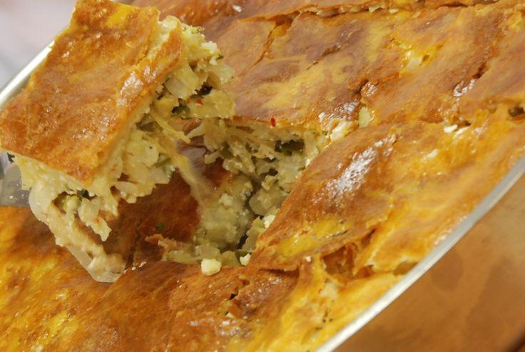Kremalı Lahana Böreği Tarifi