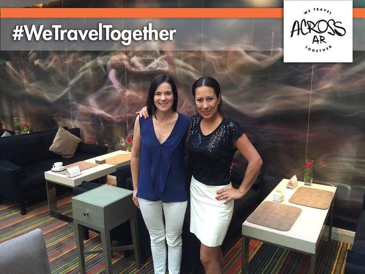 Mariana recibió este fin de semana a Laura Arredondo, le damos la #bienvenida a ella y a sus dos #amigas, que viajaron desde #México para conocer los imperdibles de #Sudamérica, incluyendo #RiodeJaneiro, #BuenosAires, #Montevideo y #PuntadelEste. Esperamos que tengan un #viaje increíble!! #Gracias por elegir Across Argentina! #viajes #Argentina #uruguay #brasil #BuenViaje #felizLunes #expertosLocales