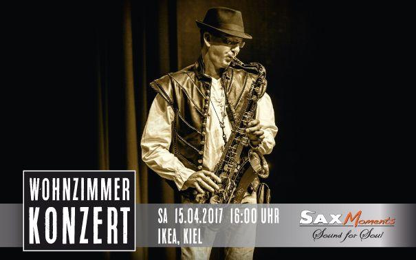 Wohnzimmer-Konzert, IKEA Kiel - http://saxmoments.com/Veranstaltung/wohnzimmer-konzert-ikea-kiel/