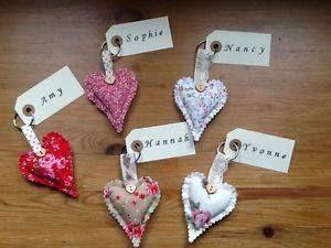 wedding favour heart  keyrings