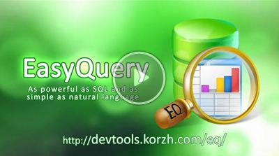 EasyQueryBuilder: SQL query builder with natural language UI