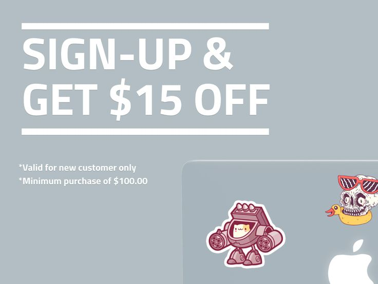 New customer? Sign-up now & Get $15 OFF on your first purchase! Minimum purchase of $100 only.      #StickerDot #customstickers #stickers #labels #decals #businesscards #postcards #stickerprinting #nzstickers #stickersnz