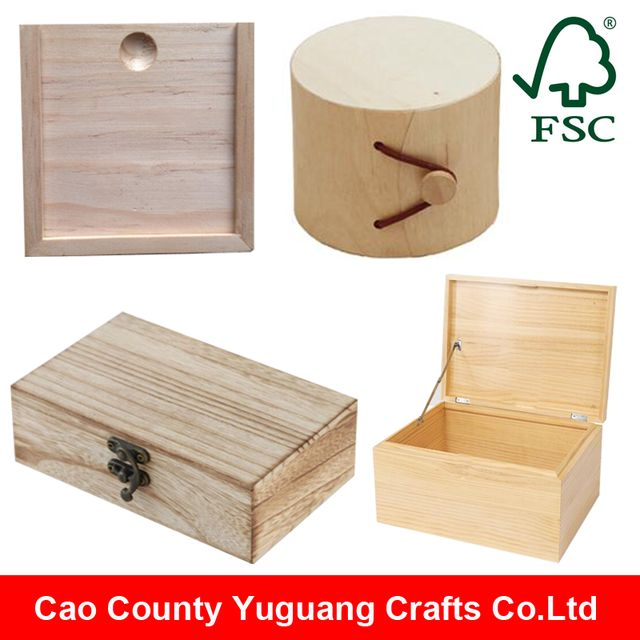 Source Custom Handmade Wooden Gift Box with hinged lids, christmas gift small wooden boxes wholesale on m.alibaba.com