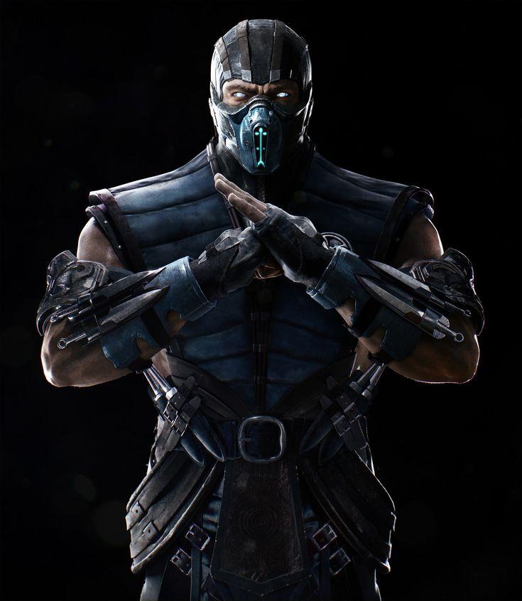 Mortal Kombat XL - Sub Zero , Petur Arnorsson on ArtStation at https://www.artstation.com/artwork/6kam5