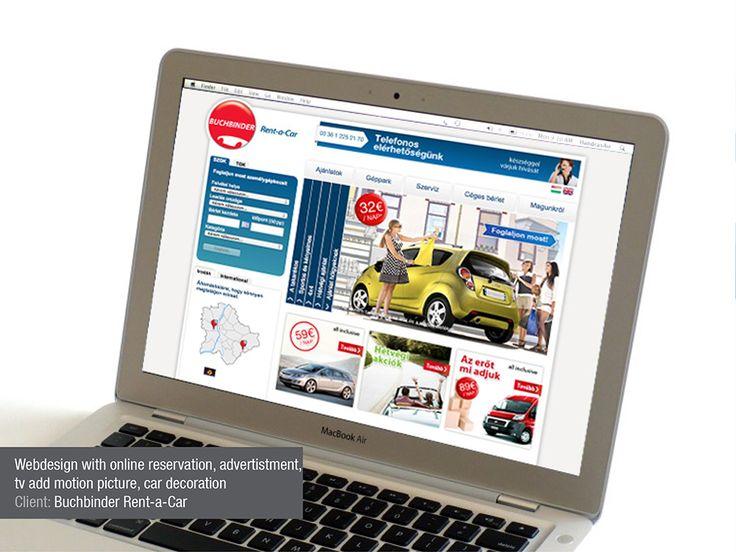 buchbinder webdesign flyerdesign