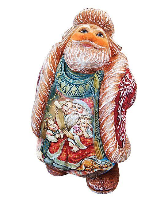 Wish List Santa Figurine