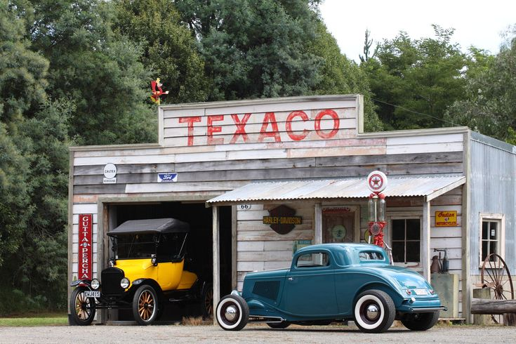 old gas stations | 1933 Ford 3W coupe - Canon Digital Photography Forums