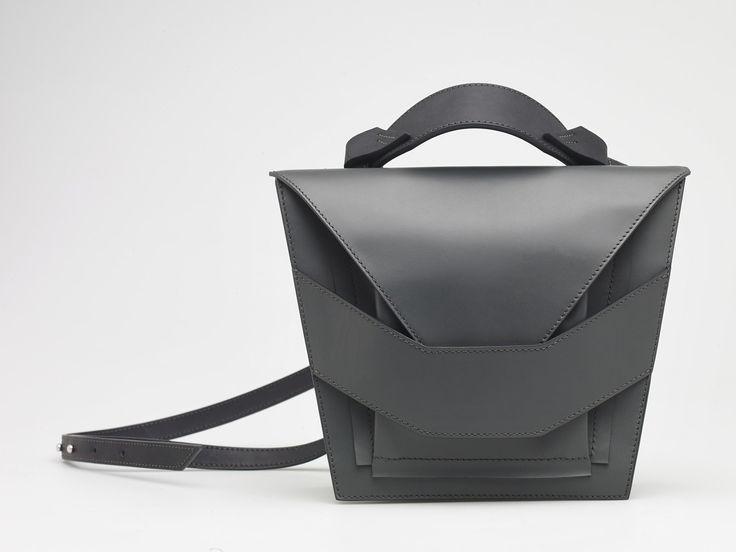 Layered Metallic Bag