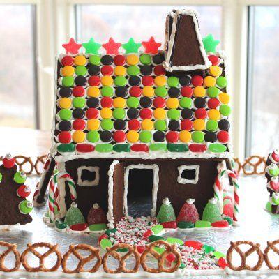 Vegan Gingerbread House Extravaganza