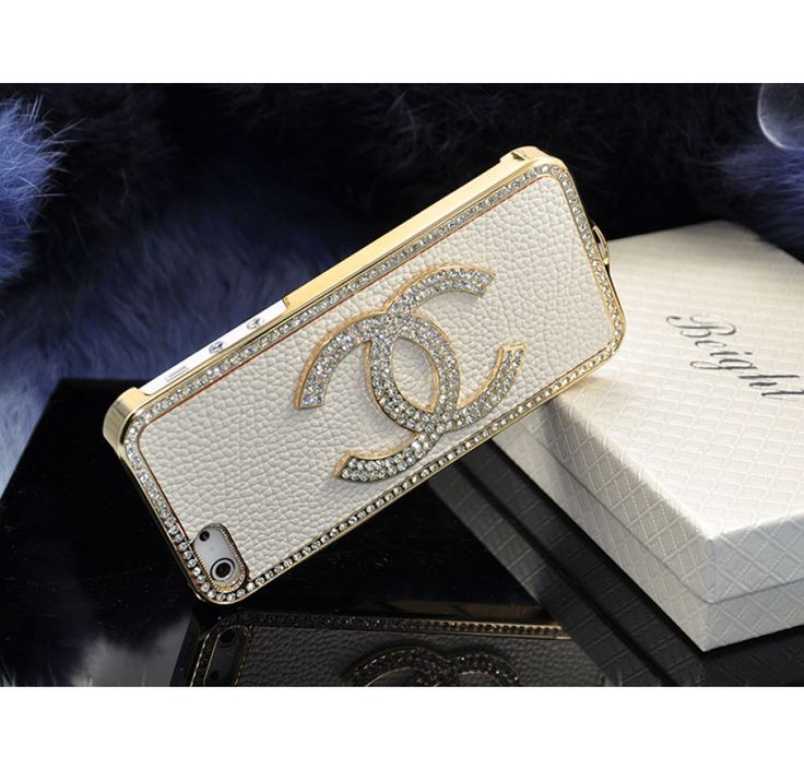 Real Leather Chanel iPhone 5 Cases - Chanel Authentic Store