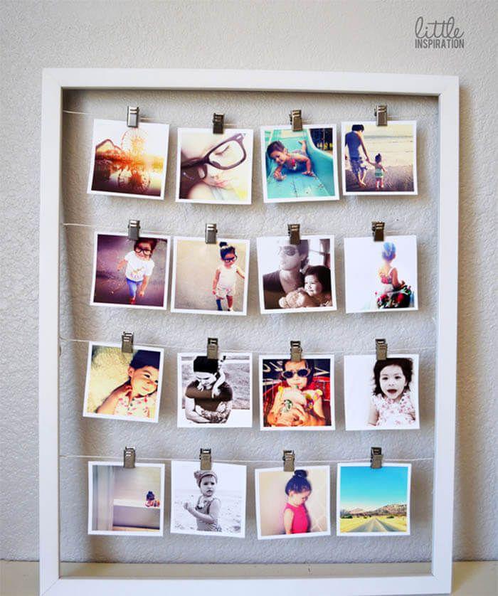 25 beste idee n over polaroid muur op pinterest - Fotos ideeen ...