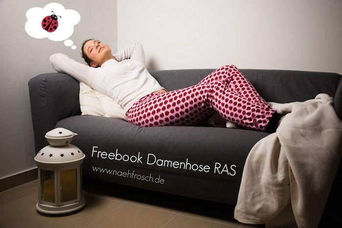 Lila-Lotta Adventskalender 2014 - Türchen Nr. 12 ~ Lila-Lotta: Freebook RAS-Hose für Erwachsene