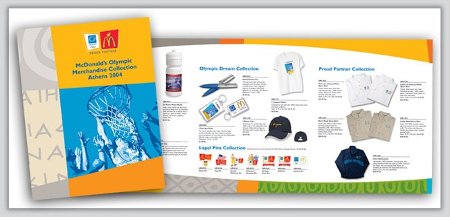McDonald's Athens Olympic Merchandise Catalogue