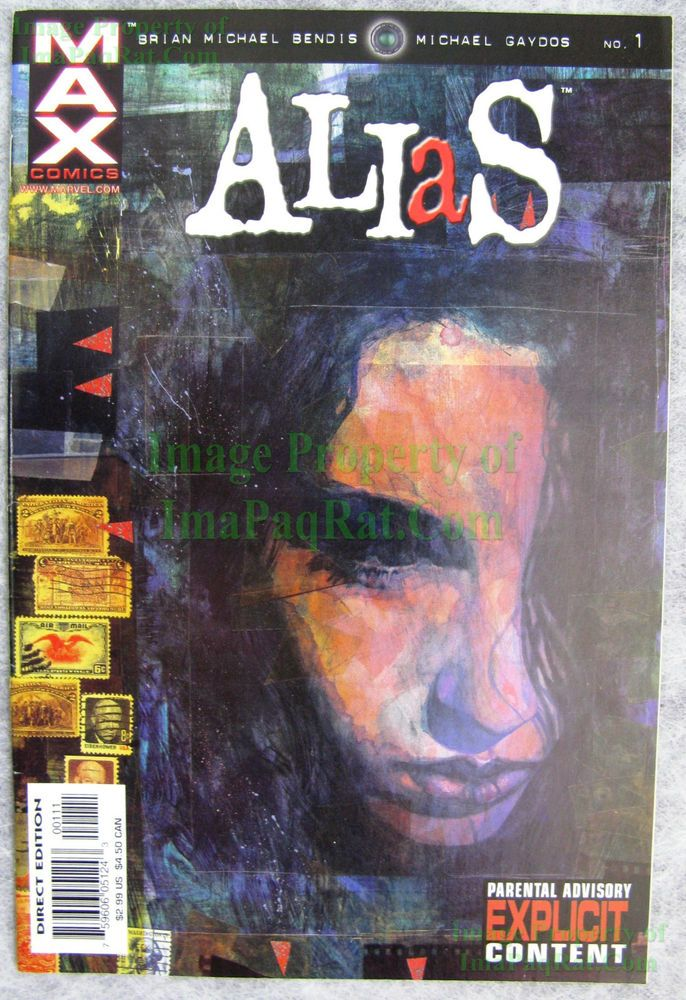 Alias #1 MAX 1st Appearance Jessica Jones Netflix TV Show HOT! BIG PICS