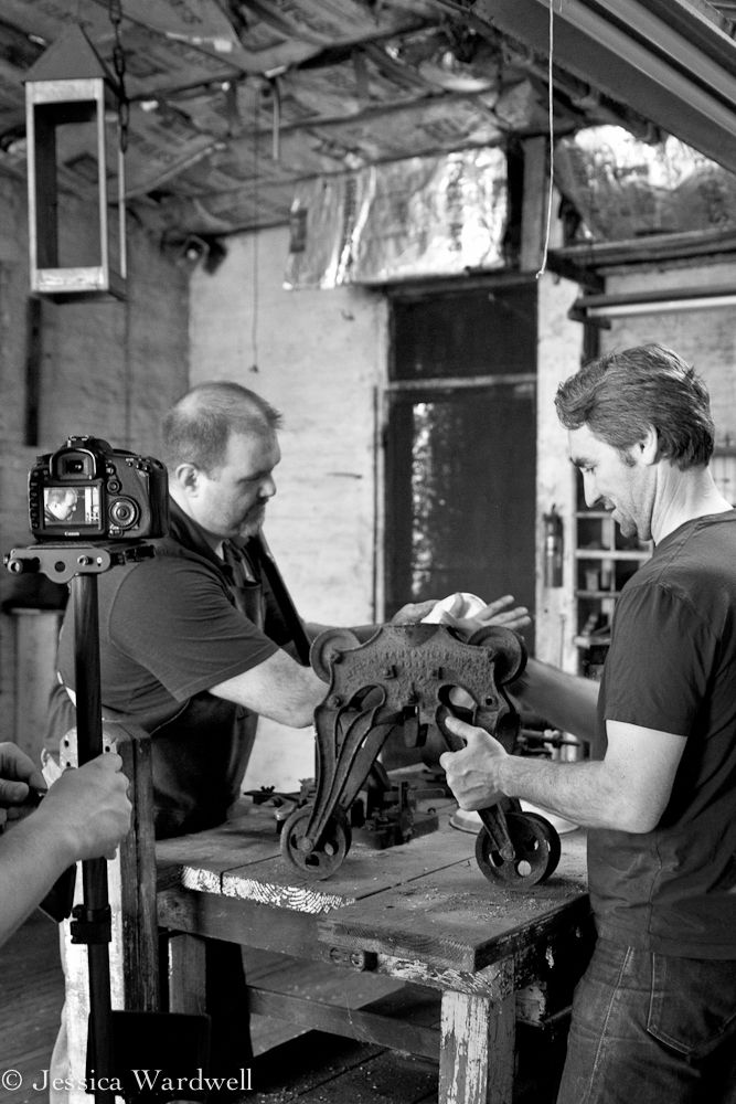 Working hard on the set for the video for Mike Wolfeu0027s Rustoration Lighting. #customlightingNashville & 16 best Rustoration Lighting images on Pinterest   American ... azcodes.com