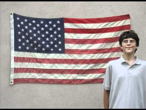 horizontal american flag