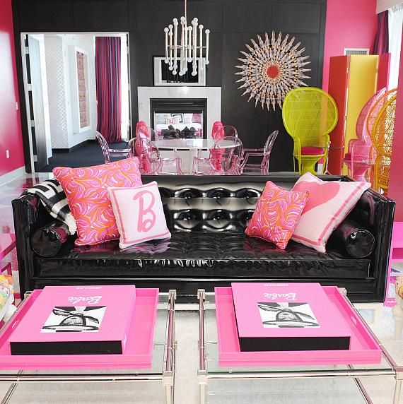 Amy!!!! Can we get some prices on this!!!! Barbie Suite at the Palms of Las Vegas #Vegas