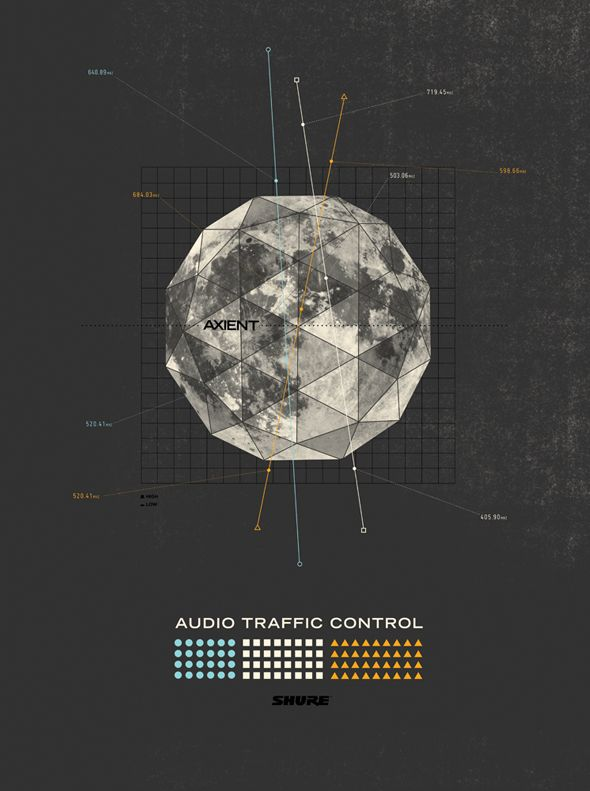 axient posters / mike mcquade #graphic #design #music