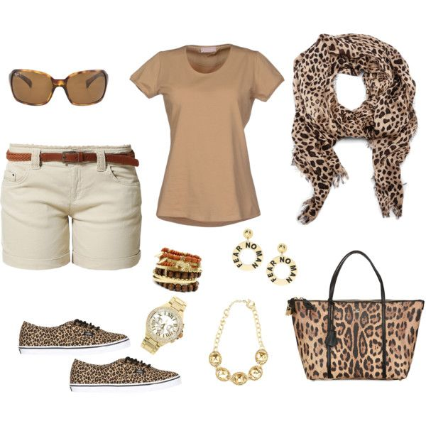 Leopard Scarf, outfit 2