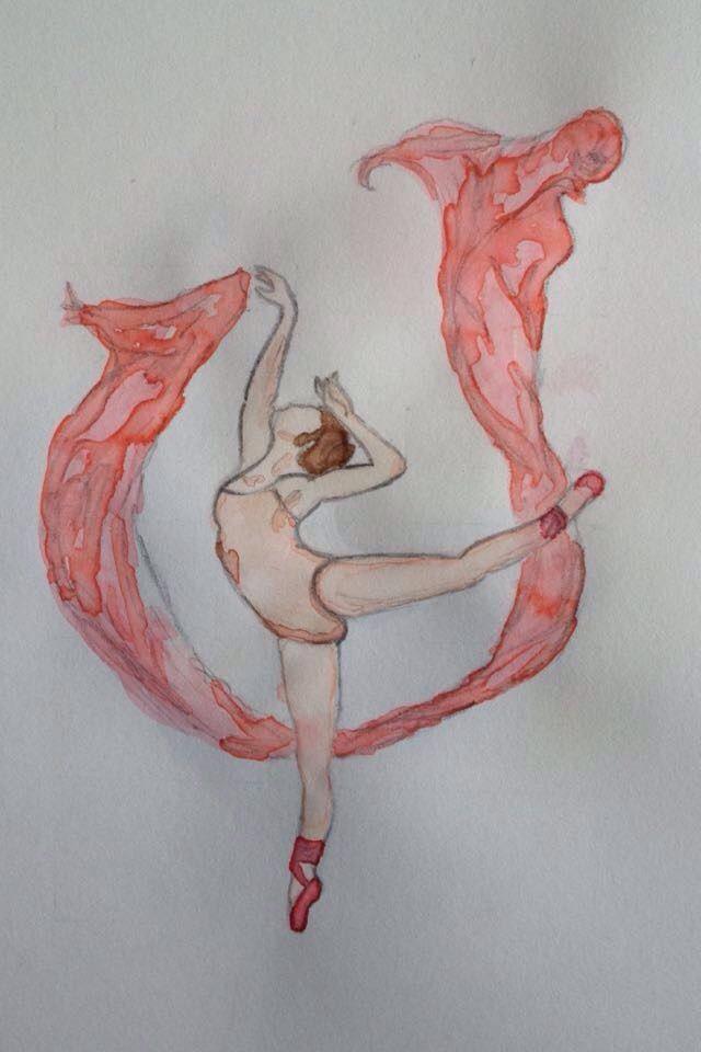 Danseuse aquarelle