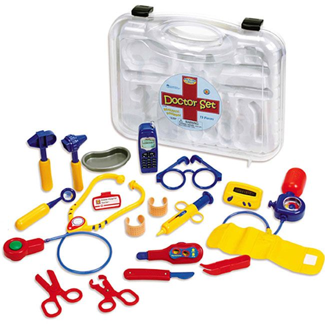 Pretend & Play 19-piece Doctor Set - Overstock™ Shopping - Big Discounts on Learning Resources Play Sets