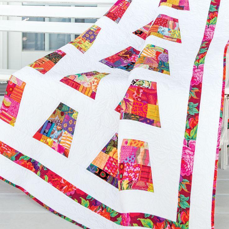 GO! A Thimbleful Quilt Pattern (PQ141359-10)