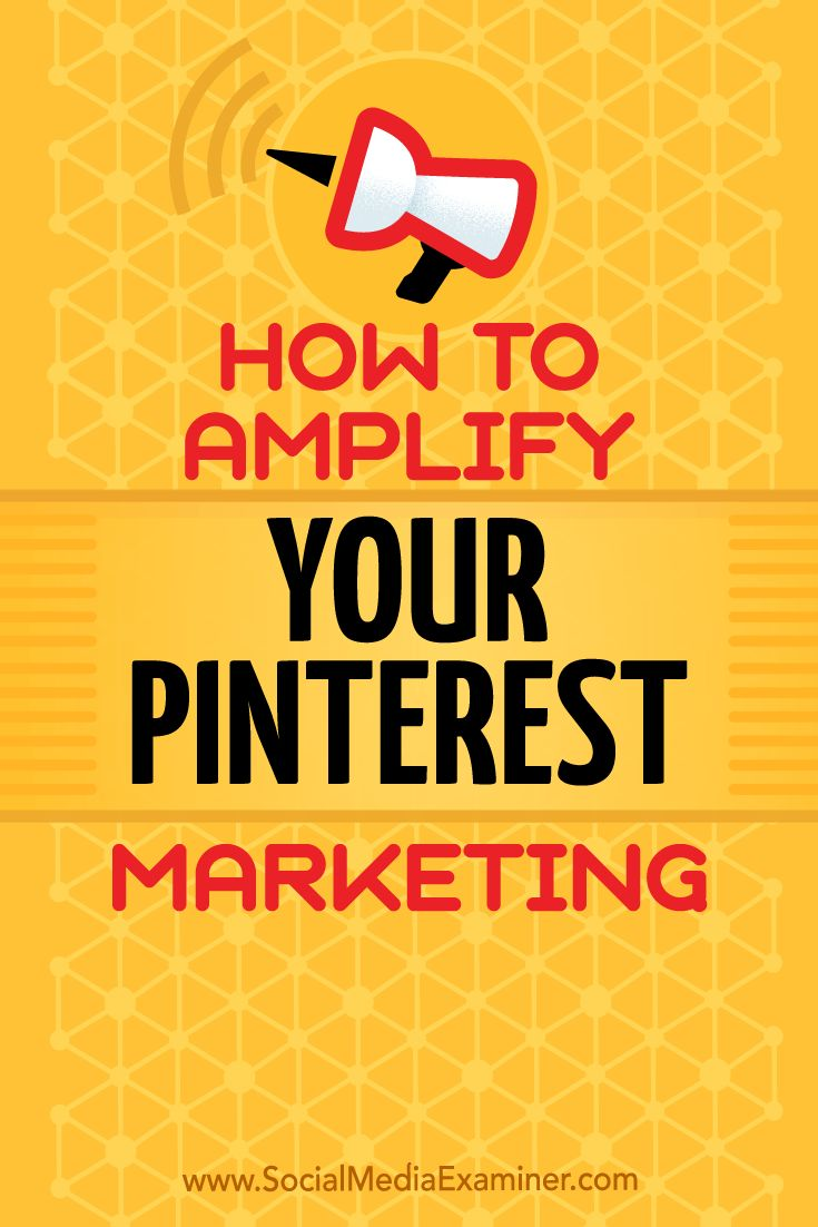A successful Pinterest marketing strategy relies on the right mix of individual pins and boards to attract viewers and drive engagement. In this article, you'll discover how three brands are using unique Pinterest boards to amplify their visual marketing.