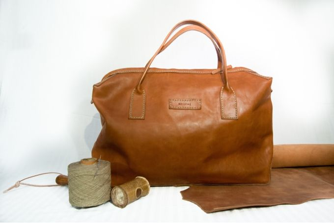 SBC Leather Deluxe Tote by Savior Brand Co