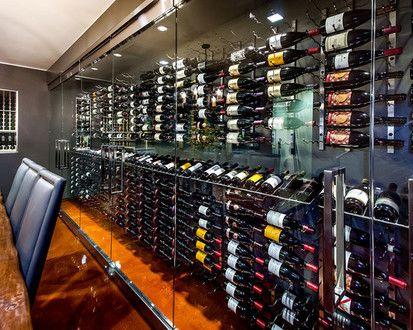 California Home, Modern Wine Cellar, San Francisco