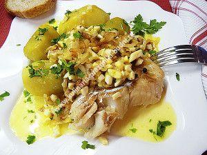 Рыба по польски с яйцом рецепт