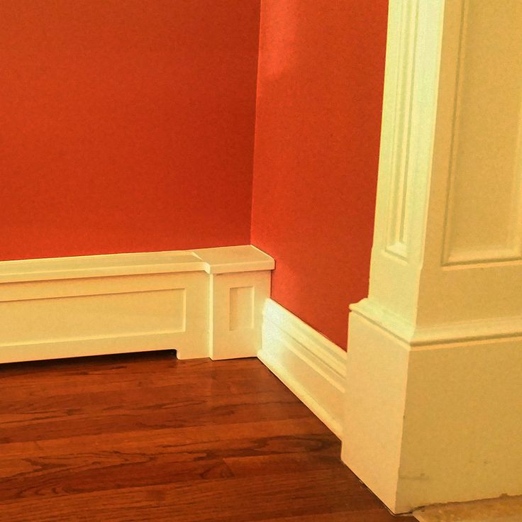 even the nicest homes with wonderful trim details can sometimes have these covers for the baseboard heat - Baseboard Heat