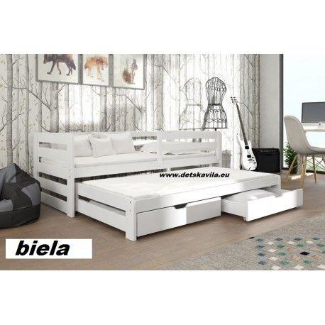 Senso drevená posteľ,komplet