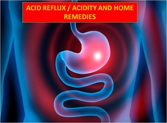 Top Home Remedies for Acid Reflux/Acidity