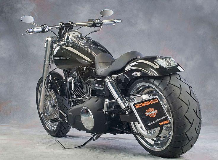 Harley Davidson FATBOB #Motorbike #Biker