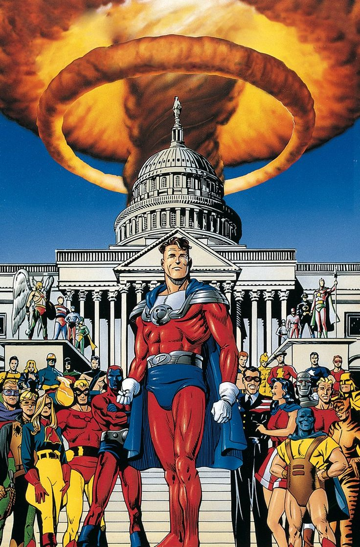 Jsa the golden age deluxe edition hc written by james