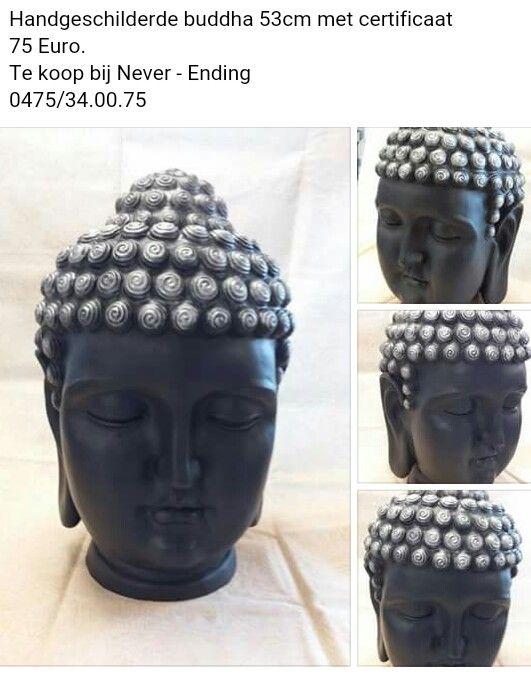 Restyling van buddha met Cornwall black en zilver