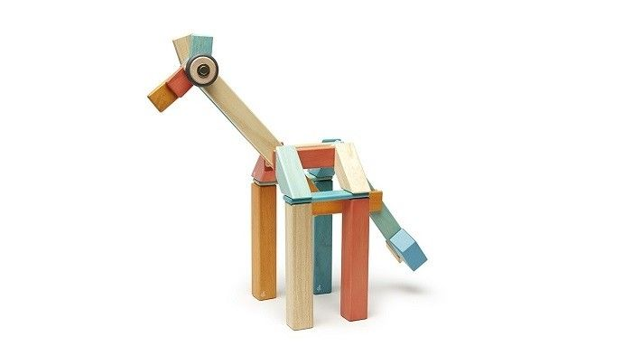 Tegu Sunset 42 Piece Set Magnetic Wooden Blocks | Entropy