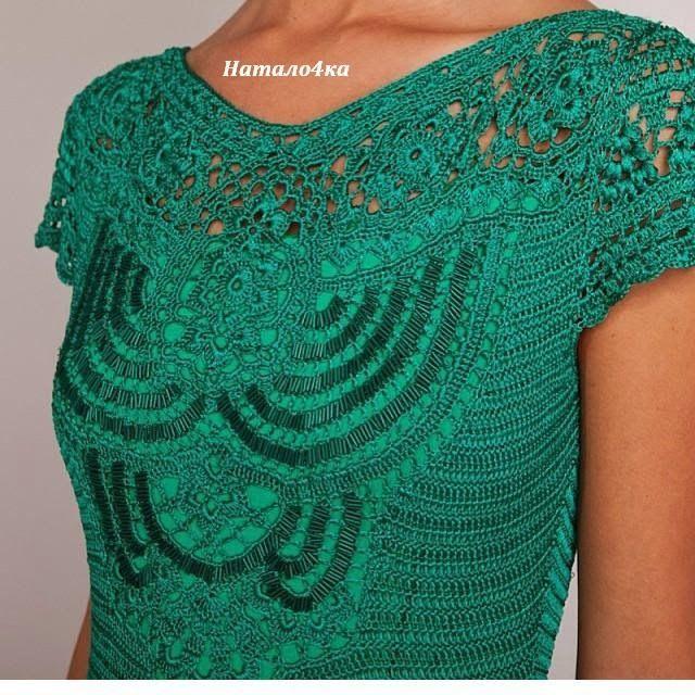 CROCHE DA ANJINHA: Vestidos de croche