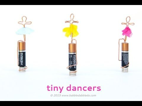 STEAM Project: Tiny Dancers (A Homopolar Motor)