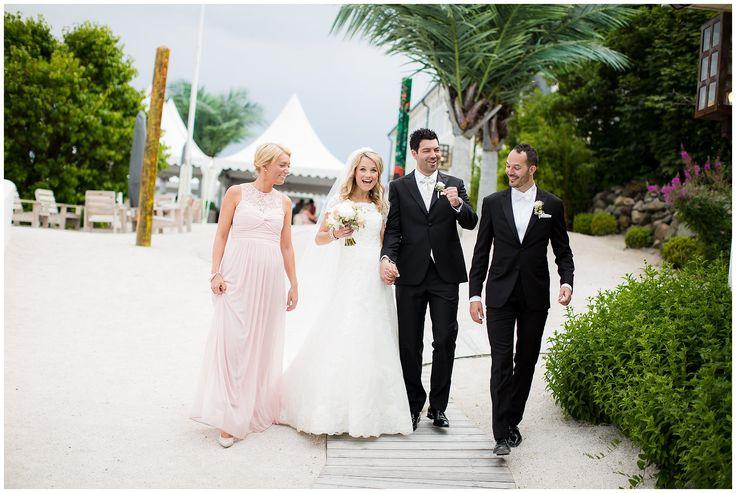 The bridal party - Wedding at Villa Malla, Filtvet Fyr // Bryllup på Villa Malla, Filtvet Fyr