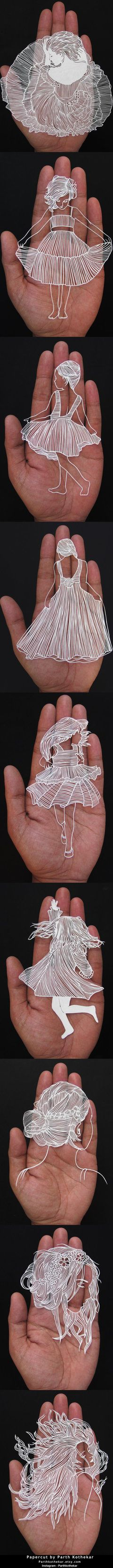 Papercut by Parth Kothekar - papercuts - paper by ParthKothekar.deviantart.com on @DeviantArt