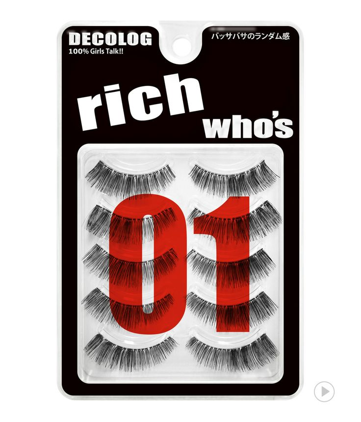 Decolog Who's Eyelash No.1 Rich