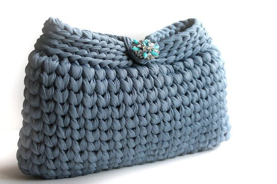 Elegant Handbag  Crochet Clutch Purse   Clutches by LiveFashion