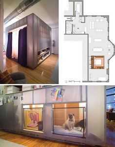 Bedroom Cubes, Design Decor Small Spaces, Living Spaces, Loft Apartment, Private Bedroom