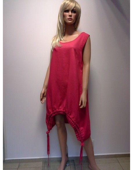 TUNIKO - SUKIENKA LEN  240,00 zł brutto Stan:  Nowy produkt  wygoda i komfort noszenia  stylowe wykonanie  idealna na upały  rozmiar L  kolor malinowo - czerwony