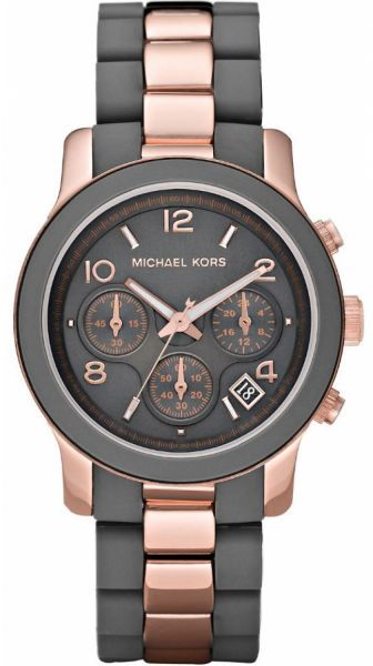 Michael Kors Runway Women's Gray Stainless Steel Band Watch - MK5465 price, review and buy in UAE, Dubai, Abu Dhabi | Souq.com