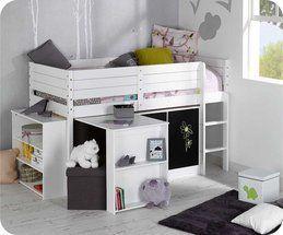 #set #cama #mediaalta #habitacion #juvenil #mueble #ecológico #sostenible #infantil