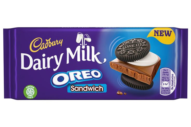 Cadbury Is Launching A New Chocolate Bar Made With Oreos